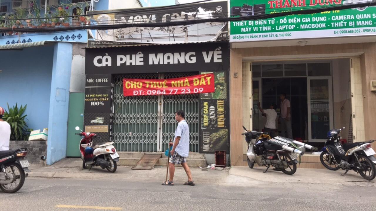 Nhà cần cho thuê tại phường Linh Tây, quận Thủ Đức, HCM