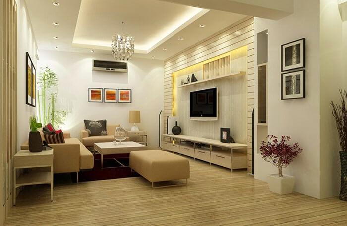 Mẫu phòng khách theo thiết kế